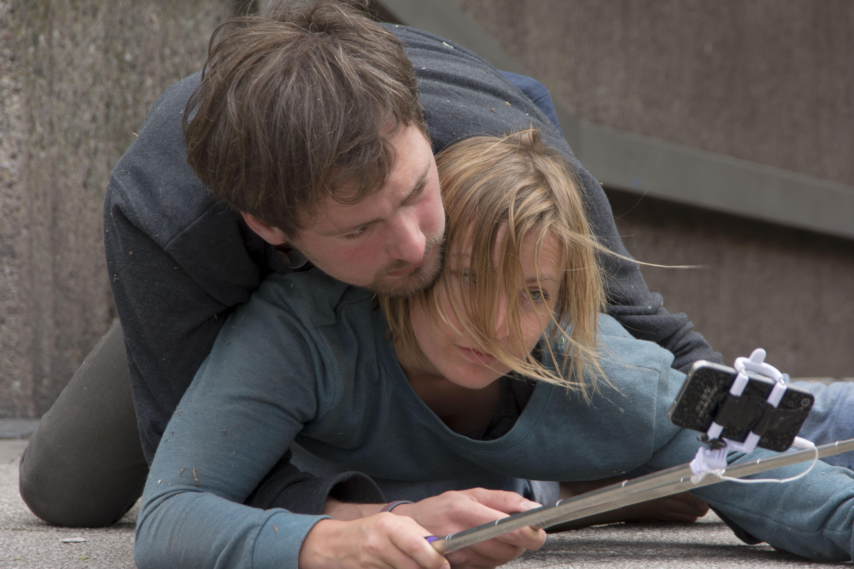 Constantin Leonhard und Anja Plonka